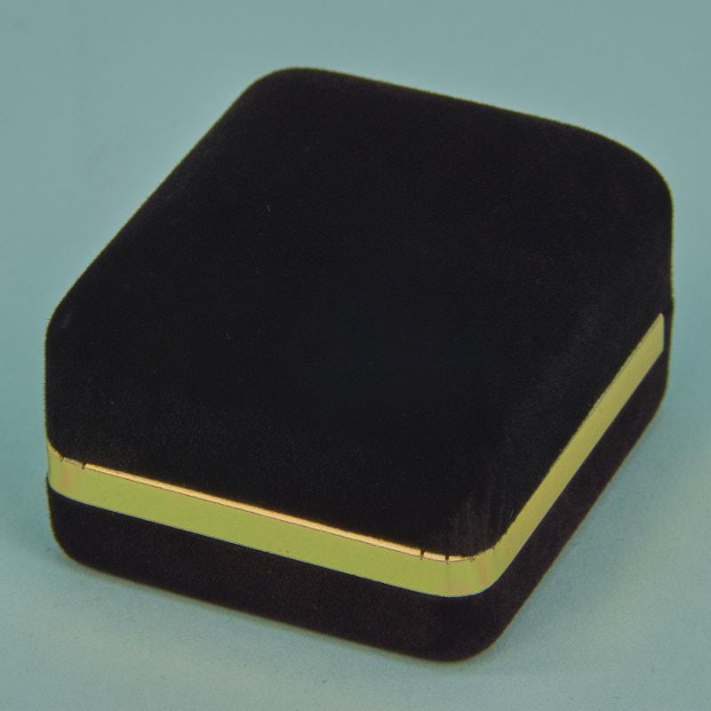 Velveteen Gold Rim Boxes - 800 Series