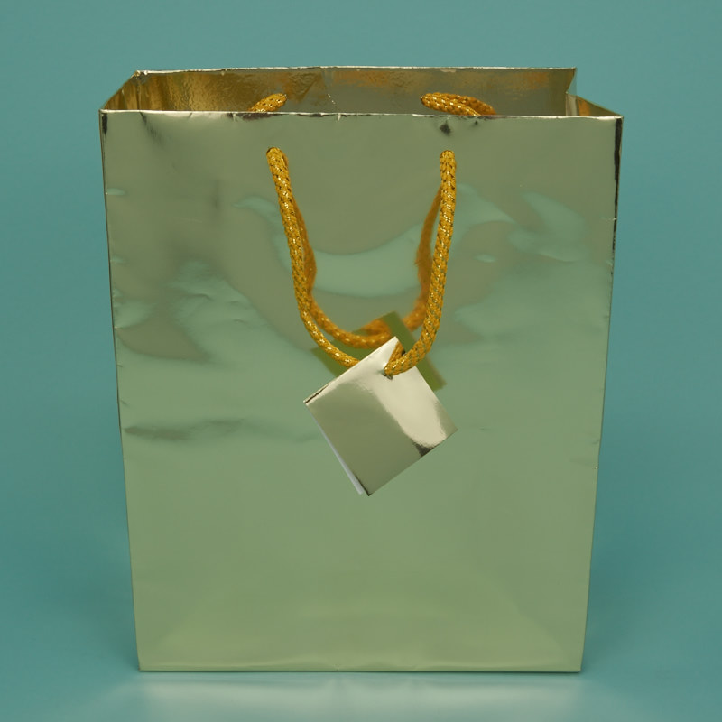 Metallic Shopping Bags