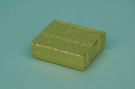 Gold Cotton-Filled Paper Boxes #1811