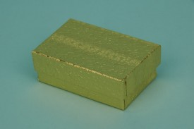 Gold Cotton-Filled Paper Boxes #1821