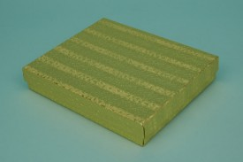 Gold Cotton-Filled Paper Boxes #1865