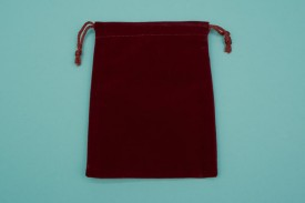 Large Velvet String Pouches #1128