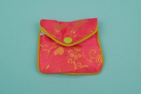 Chinese Pouches W/Zipper Small #1164
