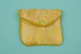 Chinese Pouches W/Zipper Medium #1166
