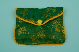 Chinese Pouches W/Zipper Large #1168